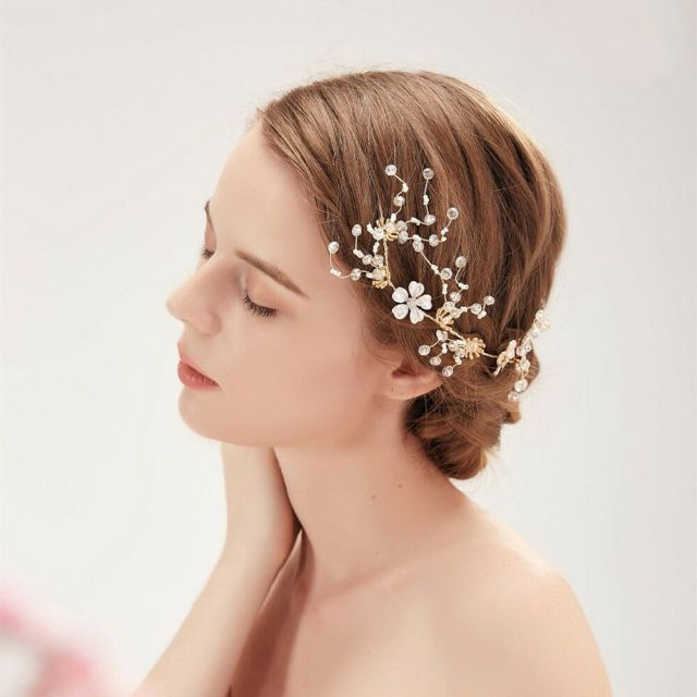 details about rhinestone and crystal bridal headband wedding hair accessories hair comb