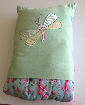 quillow flannel blanket that folds up into a pillow handmade ebay