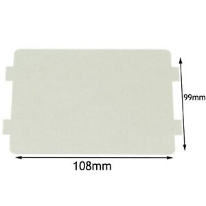 details about kenwood genuine microwave waveguide cover board panel splash piece 108 x 99 mm