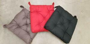 details sur ikea malinda coussin de chaise en noir 40 35x38x7cm