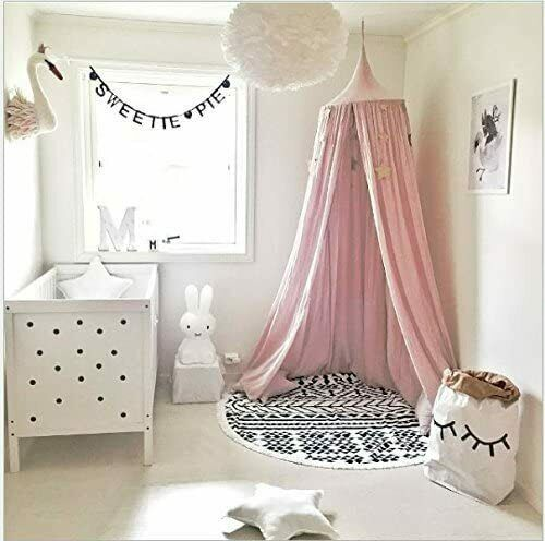 Girls Bedroom Accessories Bed Canopy Round Dome Princess Play Tents Home Decor For Sale Ebay