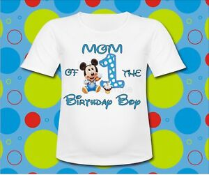 Mickey Mouse Birthday Clothes Shop Clothing Shoes Online