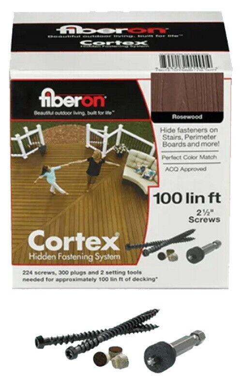 Fiberon Cortex Hidden Fastening System 100 Linear Ft For Sale Online Ebay