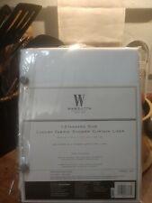 wamsutta luxury fabric shower curtain