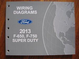 2013 Ford F 650 750 Super Duty Electrical Wiring Diagram