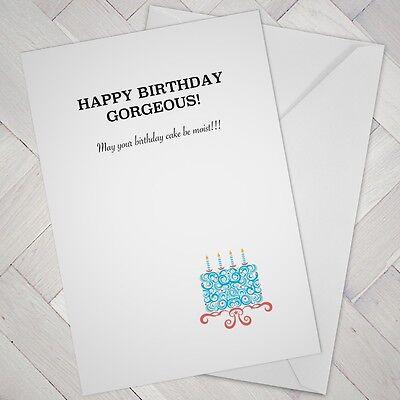 Funny Birthday Card Best Mate Joke Banter Friend Moist Girl Female Woman Wife Ebay