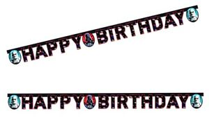 Star Wars Letter Happy Birthday Banner Girlande Geburtstag Vader Stormtrooper Ebay