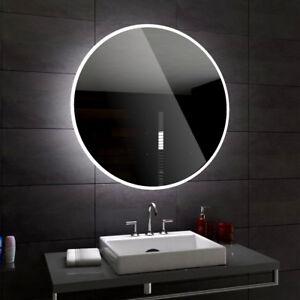 DELHI Round Illuminated Led Bathroom Mirror Custom Size