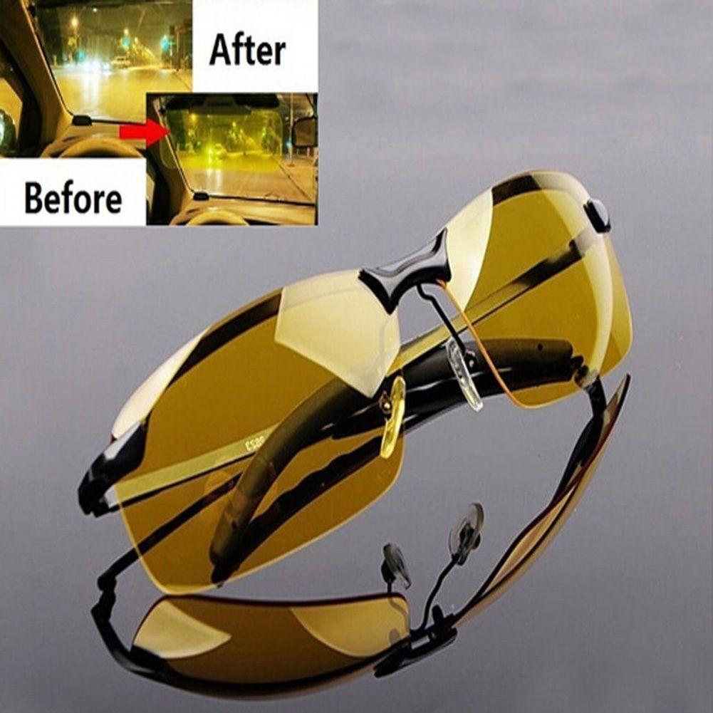 Nachtsichtbrille Auto Sonnenbrille HD Nachtfahrbrille Kontrastbrille Nachtfahr