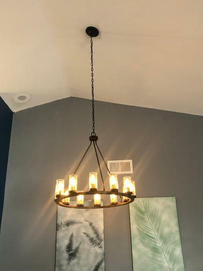 progress lighting hartwell 12 light antique bronze chandelier p400126020