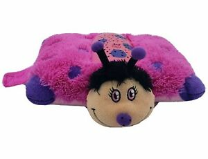 details about lady bug dream lites pillow pets plush star projection nightlight