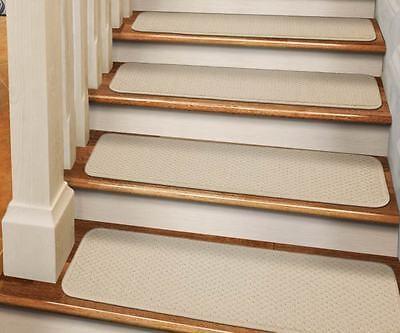 Set Of 15 Dean Skid Resistant Carpet Stair Treads Runner Rugs | Dean Carpet Stair Treads | Pet Friendly | Gripper Tape | Friendly Diy | Rug | Modern Diy