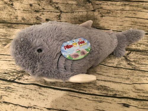 other stuffed animals sharky shark pillow pets pee wees 15 long its a pillow its a pet new nwt woodland resort com
