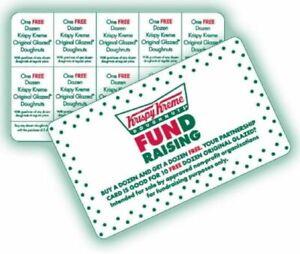 Details About Krispy Kreme Bogo Cards Buy 1 Get1 Dozen 10 Offers Per Card