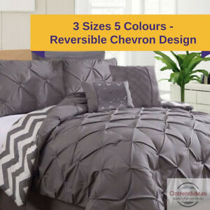 details about ramesses 7 piece pinch pleat comforter set coverlet sets 7pc comforters