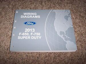 2013 Ford F750 Electrical Wiring Diagram Manual 67L 68L
