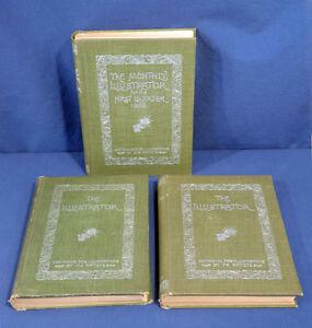 1895 the monthly illustrator magazine 3 bd vols art painting