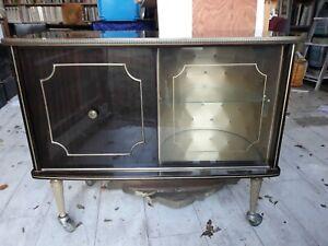 details sur meuble bar tv vintage annee 60 70