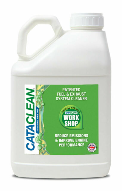 workshop petrol fuel and exhaust system cleaner 5l cataclean cat005