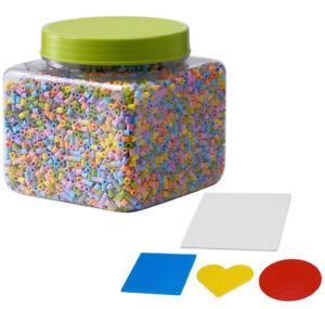 Ikea Ike 603 160 73 Pyssla Bugelperlen Pastelfarben Amazon De