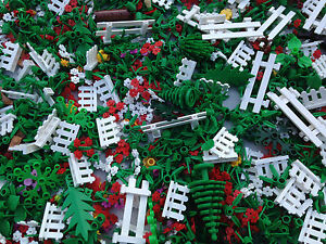 LEGO 25 NEW Random Pieces Of Garden Accessories Plants Flowers Grass     Image is loading LEGO 25 NEW Random Pieces Of Garden Accessories