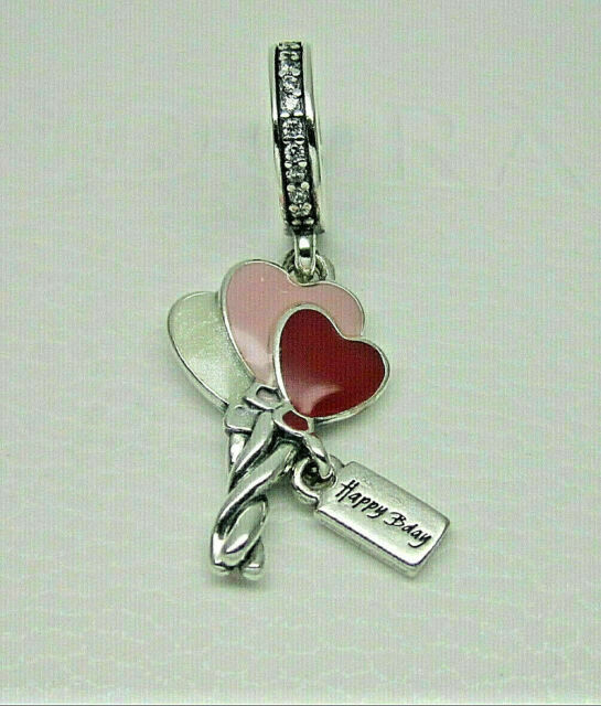 Authentic Pandora 798076cz Heart Balloons Dangle Charm With Cz 6522 For Sale Online Ebay