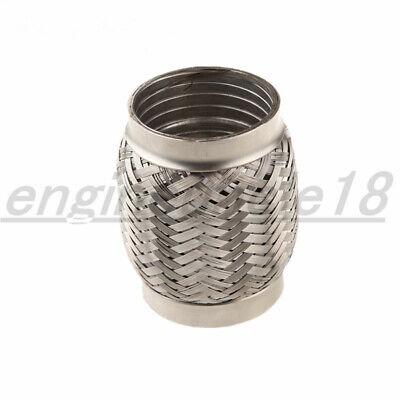 4 inch id stainless steel exhaust flex pipe 4 length heavy duty interlock ebay