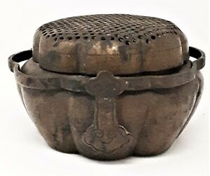 Antique Chinese Metal Hand Warmer