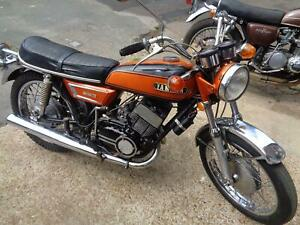 1971 Yamaha YR5 350 us barn find great winter project or cafe racer £1999