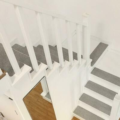 7 14Pcs Self Adhesive Carpet Stair Tread Non Slip Protection Cover | Rug Stair Treads Non Slip | Vinyl Flooring | Skid Resistant | 8.5 X26 | Overstock | Mat