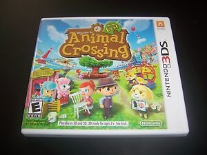 Replacement Case  NO GAME  Animal Crossing New Leaf Nintendo 3DS     Image is loading Replacement Case NO GAME Animal Crossing New Leaf