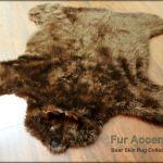 Brown Teddy Bear Rug Childrens Hand Hooked Rugs Animal Nursery Decor 24 X 36 For Sale Online Ebay