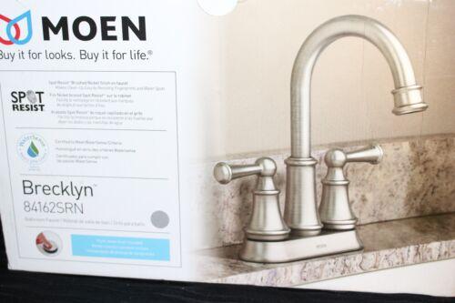 home garden centerset 2 handle bathroom faucet in spot resist b moen brecklyn 4 in nickel home improvement