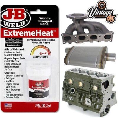 classic car extreme heat cracked engine block manifold exhaust repair paste 85g ebay
