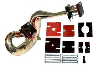 details zu exhaust pipe dent blow out kit 2 stroke ideal for twinshock evo motocross bikes
