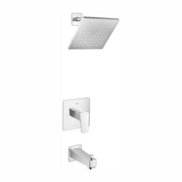 grohe 35097000 tallinn single handle 1 spray bathtub shower faucet starlight chrome