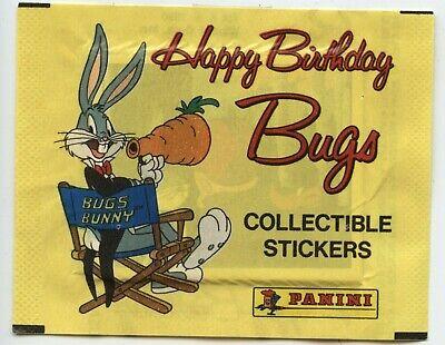Panini Looney Tunes Happy Birthday Bugs Bunny Complete Set Ebay