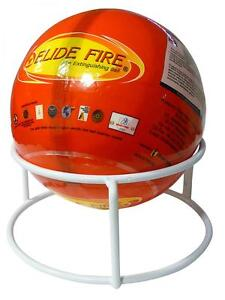 Image Is Loading Original Elide Fire Extinguisher Ball Auto Ignition A B C E