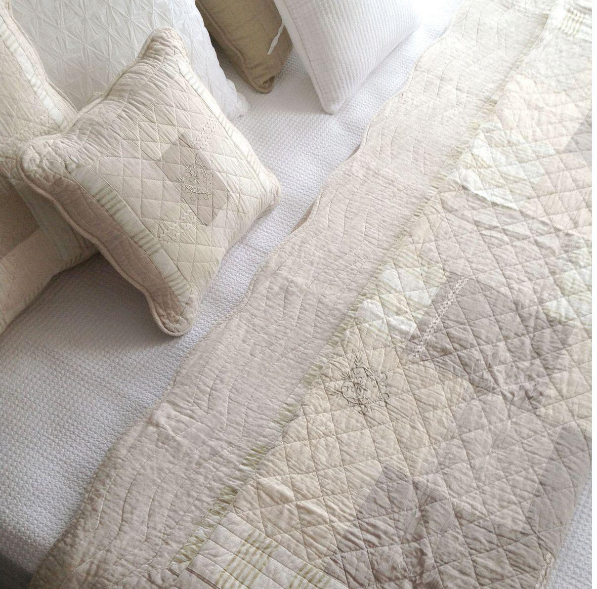 King Size Linen Quilt