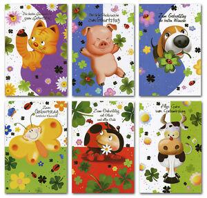 100 Gluckwunschkarten Zum Geburtstag Kinder 51 5802