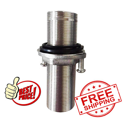 4 inch extra length shank nuts faucet tap extension threaded pipe mounting 10cm ebay