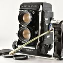 【N MINT】Mamiya C330 Pro Medium Format TLR + DS105mm F3.5 Blue Dot from Japan 304