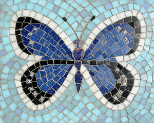 details about mosaics kits 25cm x 20cm by martin cheek choice of 2 designs with tile nippers