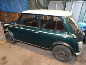 Classic mini Racing Green project