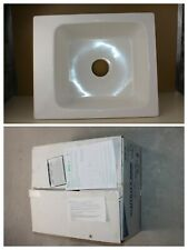 mustee 11 utility sink 17in x 20in white