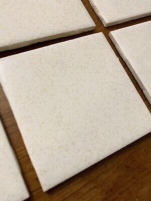 10 vintage ceramic wall tiles 4 25 4 1 4 white gold dust speckle 1970s ebay