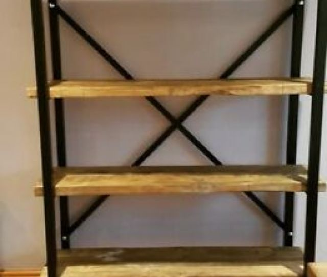 Image Is Loading Shelving Unit Industrial Shelving Unit Rustic Shelving Unit