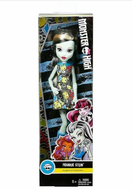Monster High Frankie Stein Doll Daughter Of Frankenstein For Sale Online Ebay