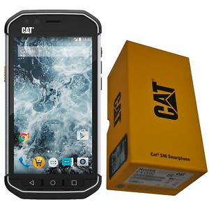 BNIB CATERPILLAR CAT S40 BLACK/SILVER 16GB DUAL SIM FACTORY UNLOCKED 4G/LTE GSM