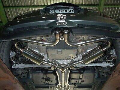 invidia n1 cat back exhaust titanium tip fits 2005 2006 mini cooper s ebay